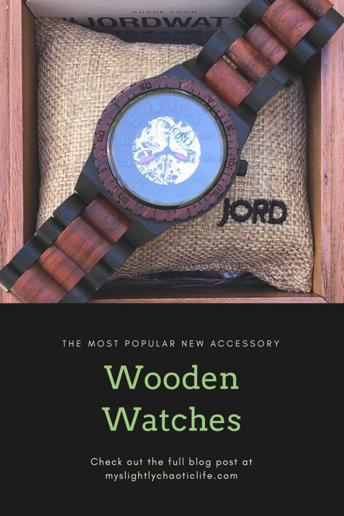 Check out my review on JORD watches and enter to win $100.00 off your very own wooden watch!