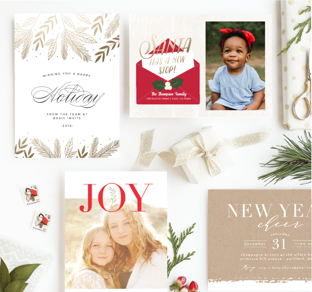 Looking to create a beautiful custom holiday card? Looking for custom wedding coasters? Basic Invite has all the tools to create any type of custom stationary you are looking for. | Holiday Cards | Wedding invites | Stationary | Cards |