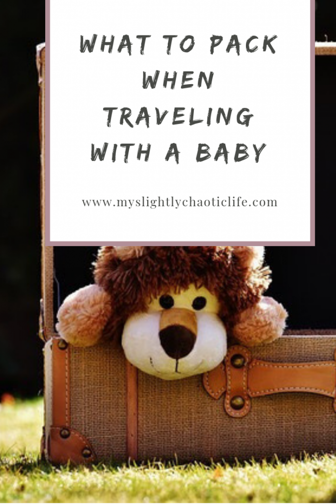 Unsure of what to pack for your baby on your next trip? Here are 21 essentials to get you through your trip with ease. | Travel | Kids | Packing | #traveltips #travelpacking #travelwithkids