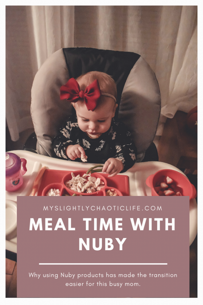 Looking for the perfect plates, bowls and cups to use with your baby just starting to eat with their hands? Check out my full review on Nuby products for your little one! | Baby | Baby food | Nuby | #babyfeeding #babyfood #babytips #mealtime