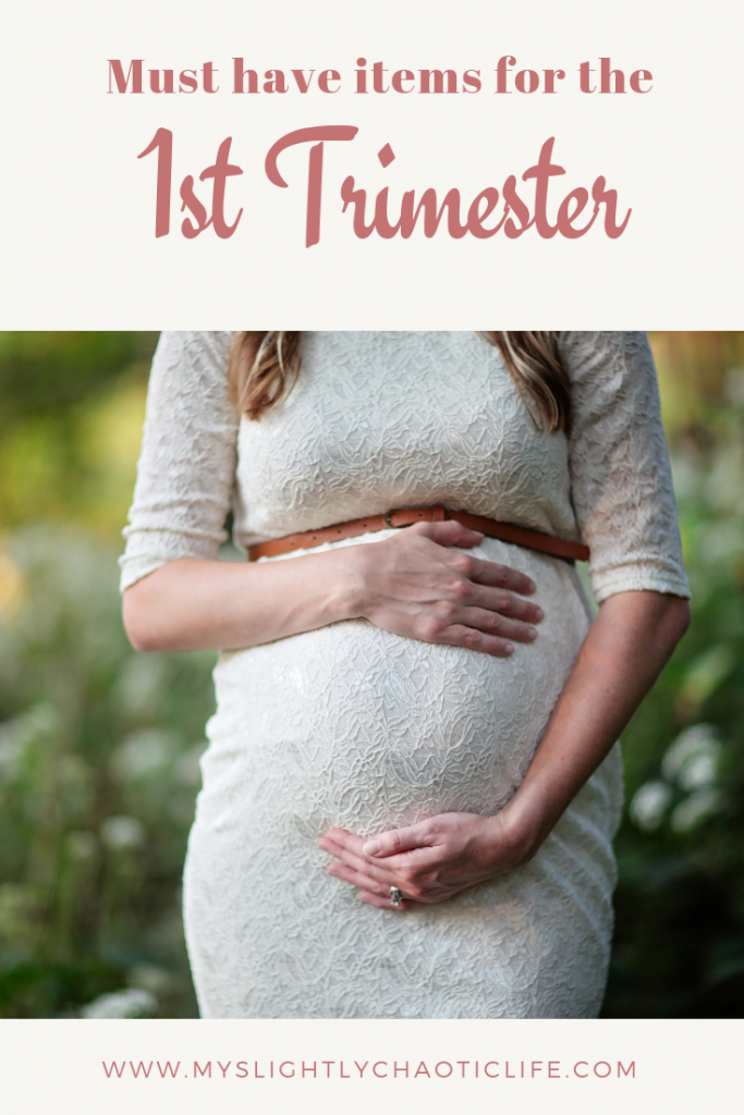 Newly pregnant and wondering what items you need during your first trimester? Check out these must have items that will get you though your 1st trimester of pregnancy and beyond. | Baby | First trimester | New mom | Pregnancy | #firsttrimesteressentials #pregnancy #baby #firsttrimester