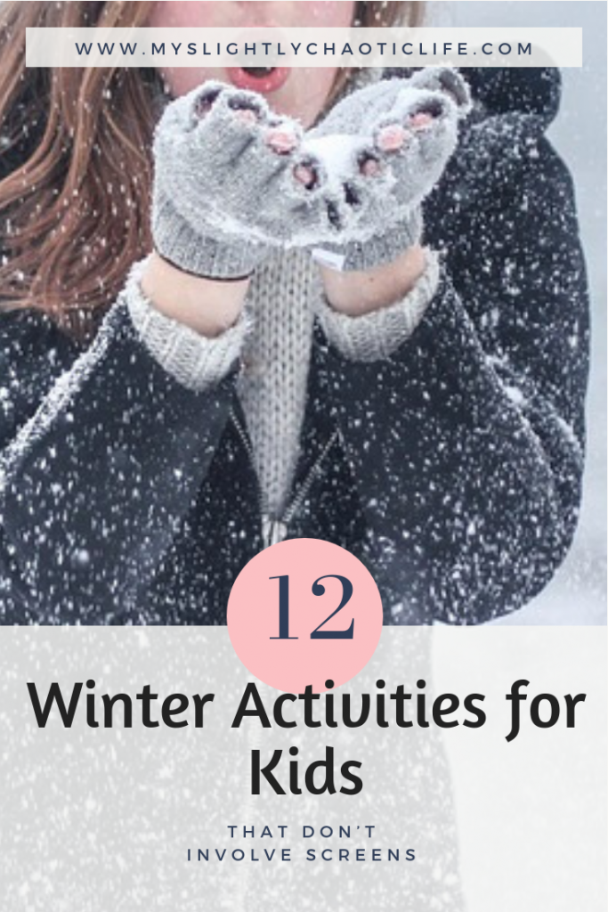 Looking for winter activities for kids? Check out these 12 easy winter activities for kids. Even better, they are screen free activities.
