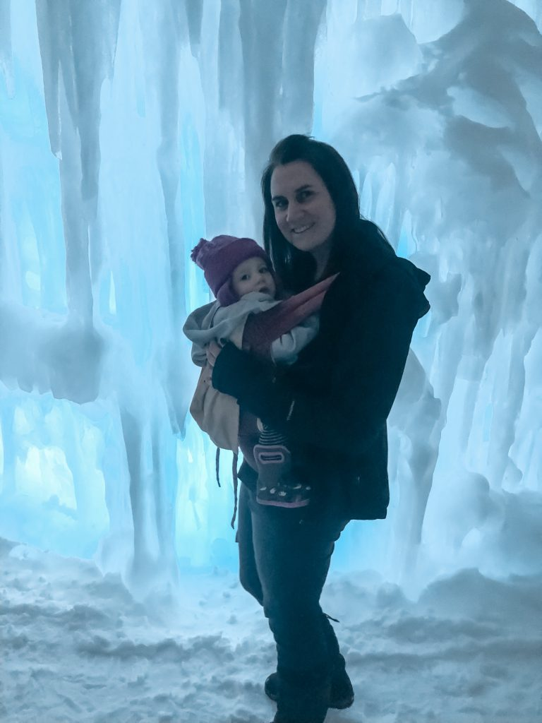 Visiting the Ice Castles New Hampshire? Here is what to expect during your visit.   New England travel   Ice Castles New Hampshire   Ice Castles photography  