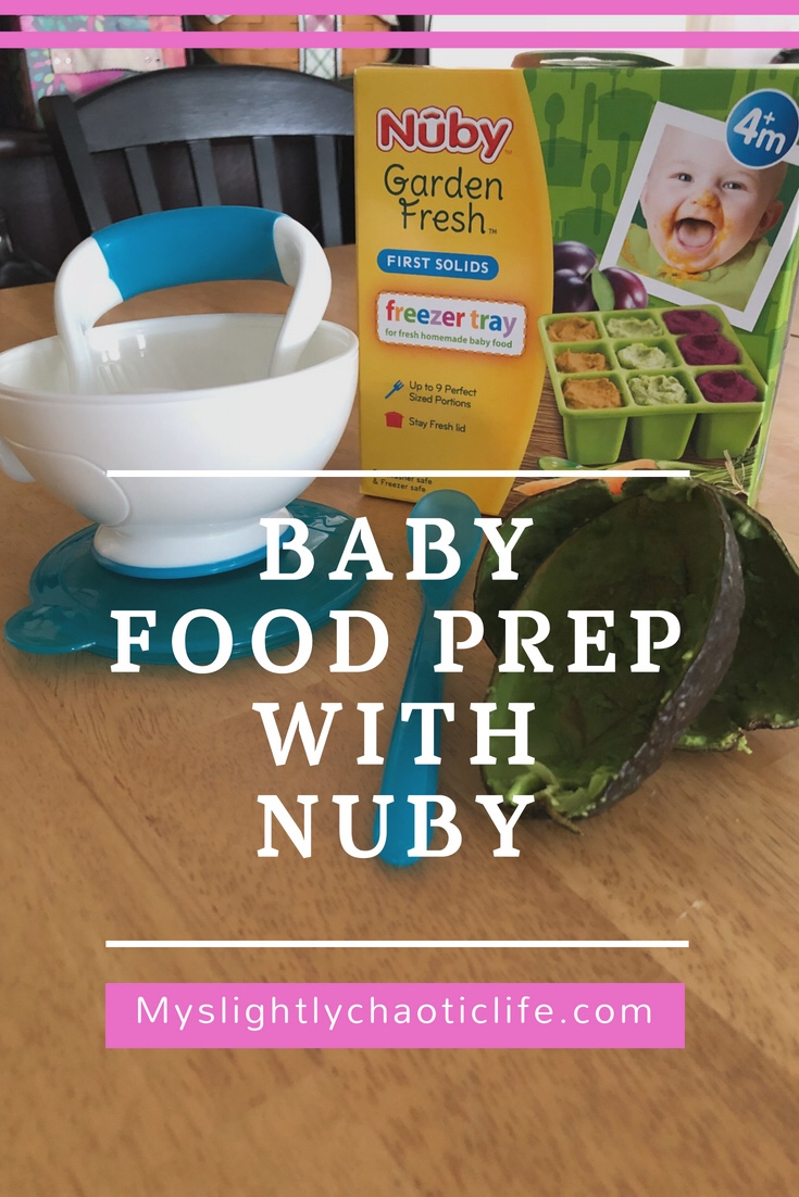 Baby food prep with Nuby