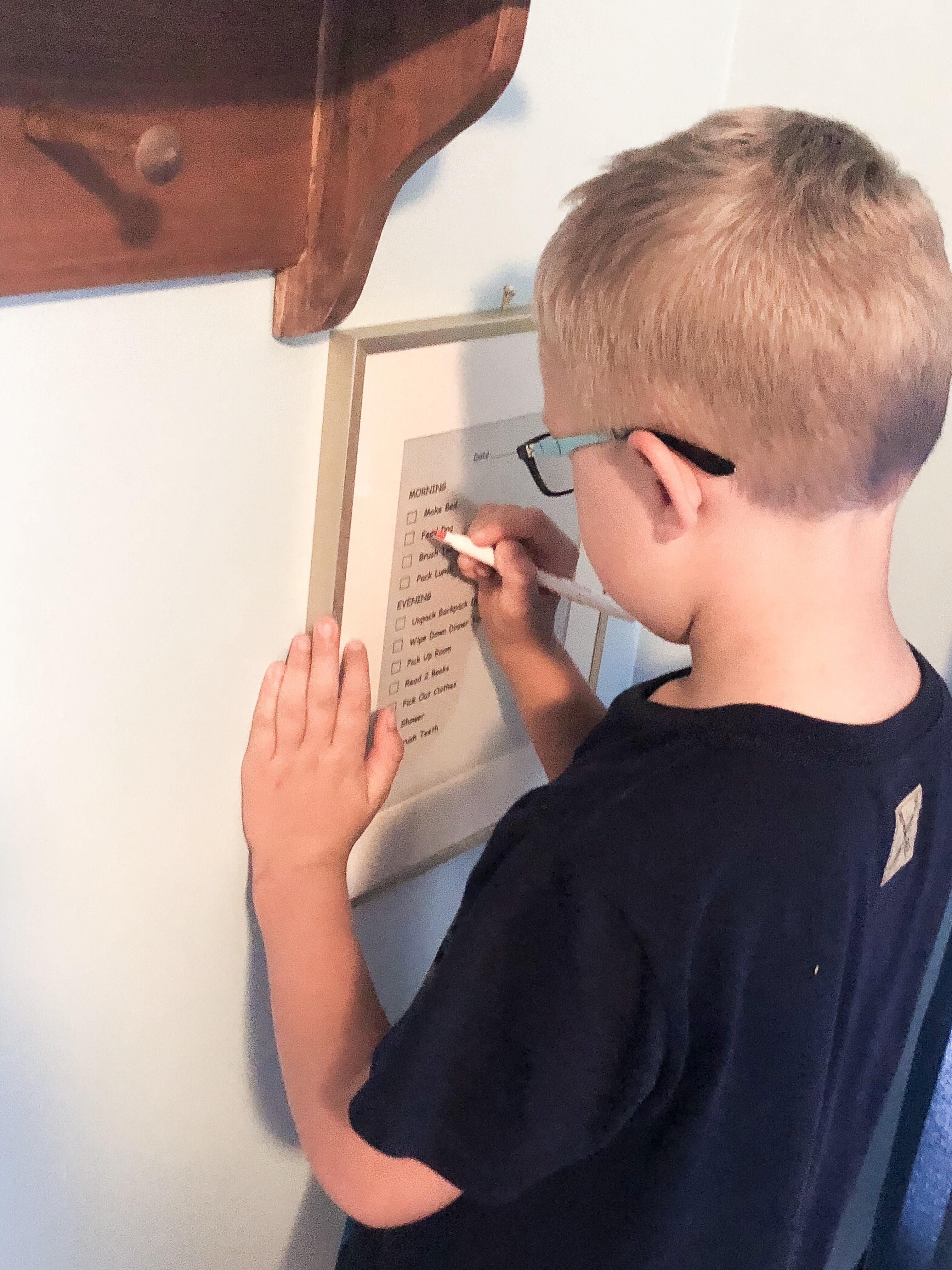 Easy DIY Task List for Kids