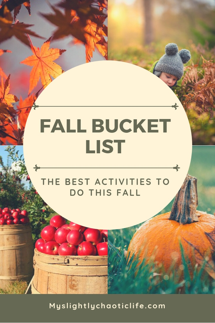 Looking for activities to do with your family this fall? Check out this list on what to add to your own personal fall bucket list. | Fall activities | Fall bucket list | Fall | Free activities |