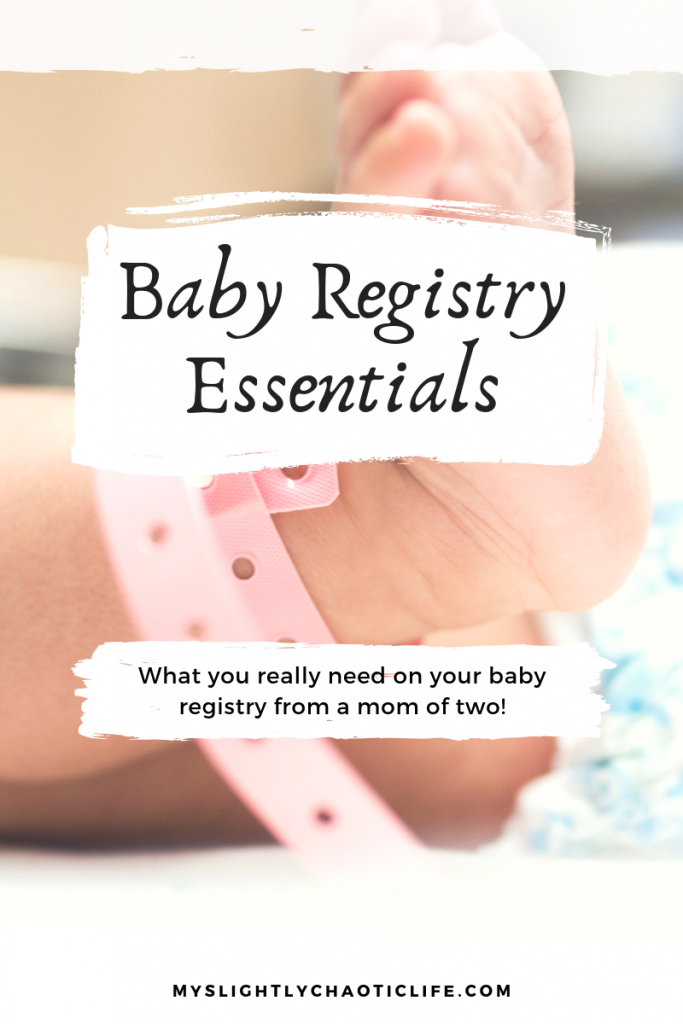Struggling to figure out what you really need to put on your baby registry? Struggling with figuring out what the essentials are? Check out this list of baby registry items that you actually need. | Baby | Baby registry | Baby items | #babyregistry #babyitems #newmom #newborn