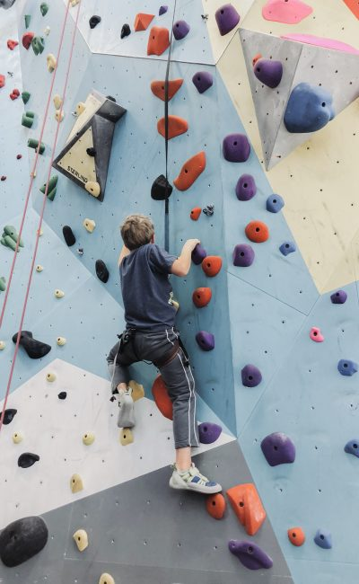 Fun Ways to Get Fit: Indoor Rock Climbing