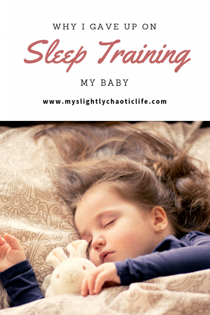The reasons why I gave up sleep training my baby and what I do instead. | Sleep training | Baby | Sleep | Baby sleep |