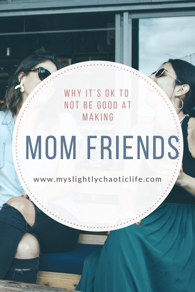Bad at making mom friends? Mom fail this week focuses on the struggle it is to make new mom friends and why it is so difficult sometimes.