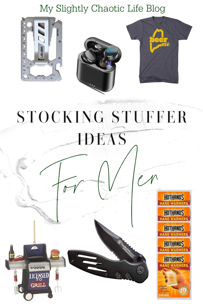 Looking for stocking stuffer ideas for the man in your life? Here are easy stocking stuffer ideas for men to get today! | Gifts for men | Stocking stuffers for men | Stocking stuffer ideas |