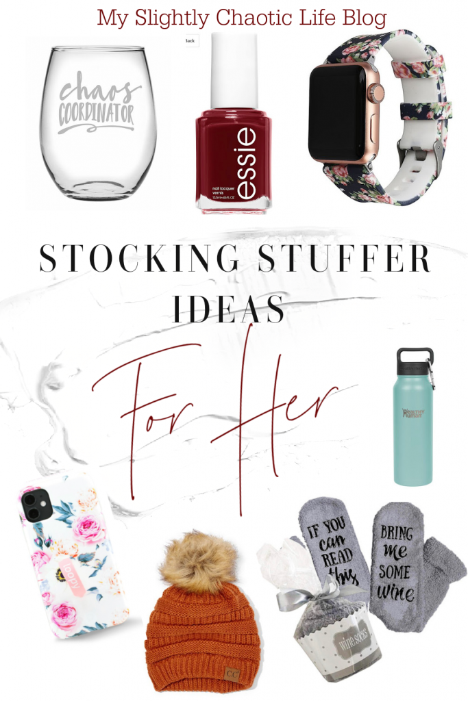 Looking for easy stocking stuffer ideas for the mom in your life? Check out these ideas and more. | Stocking stuffers | Stocking stuffers for her | Christmas gifts |