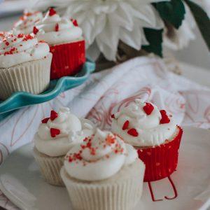 Raspberry filled vanilla cupcake recipe
