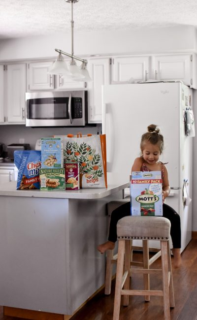 Back to School Snacks with Box Tops for Education
